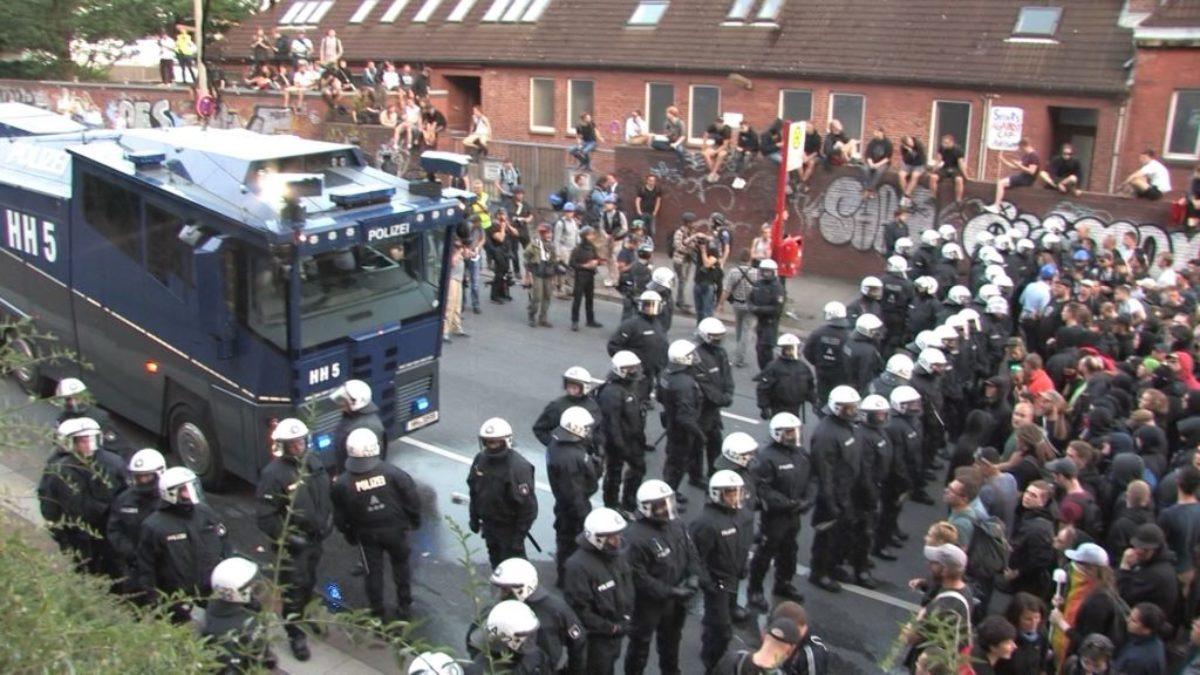 G20 Polizeieinsatz